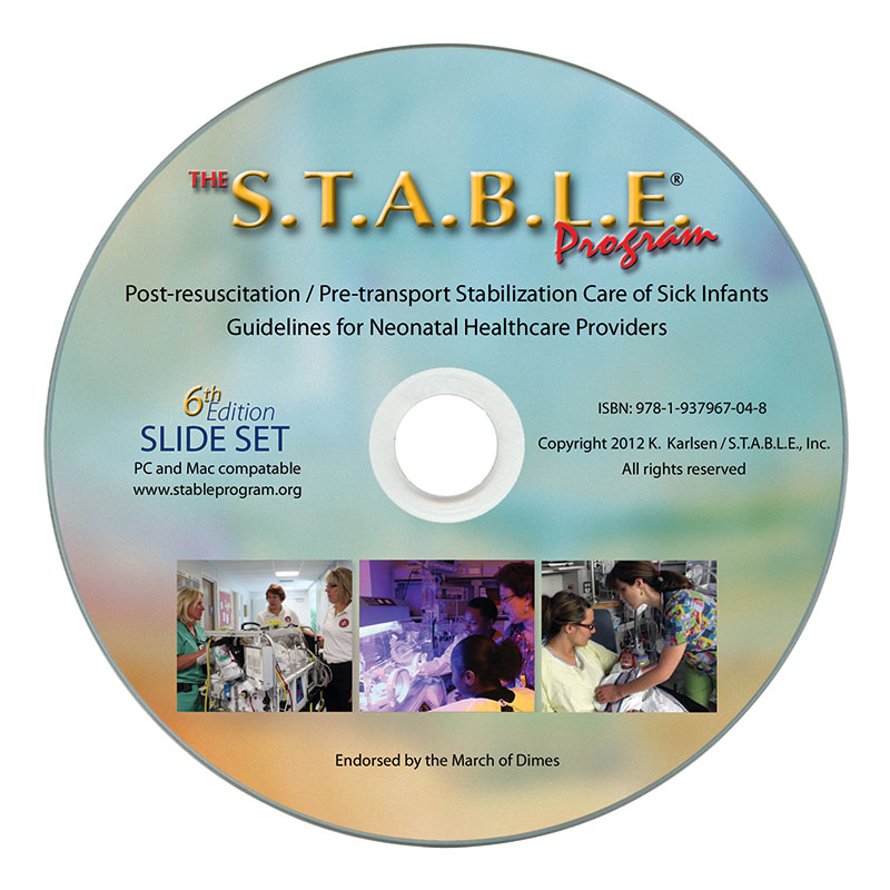 the s t a b l e  program learner    provider course slides on dvd  6th edition