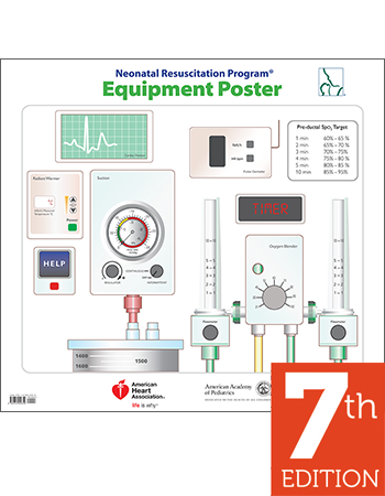 Nrp pocket card pack of 10 7th edition aap nrp equipment poster 7th edition fandeluxe Image collections