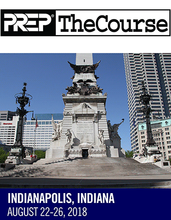 2018 PREP The Course - Indianapolis - AAP