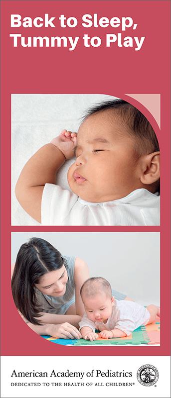 Back To Sleep Tummy To Play 50 Pk Brochure Aap