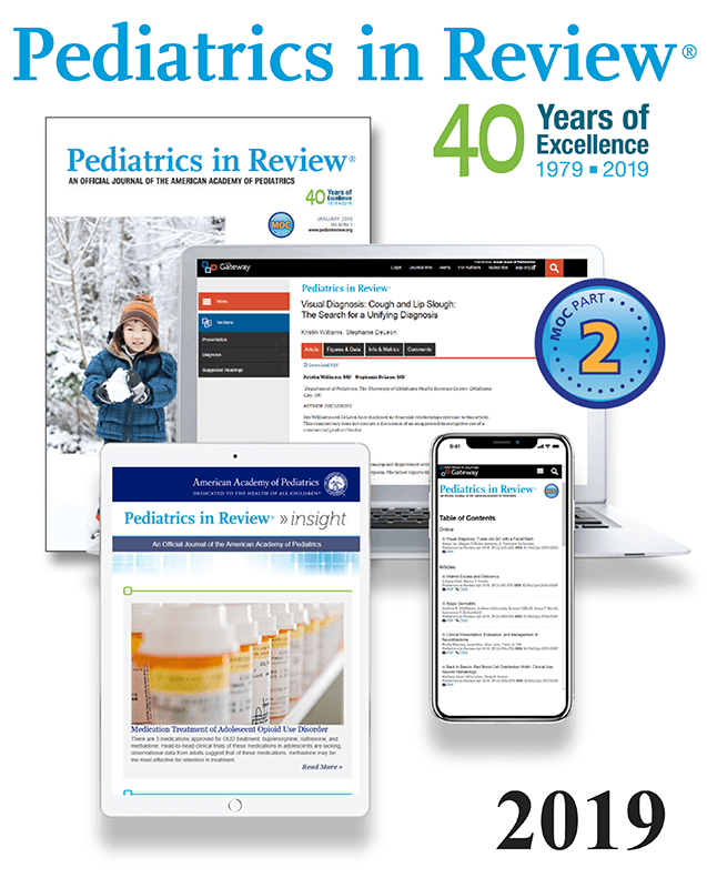 2019 Pediatrics in Review - AAP
