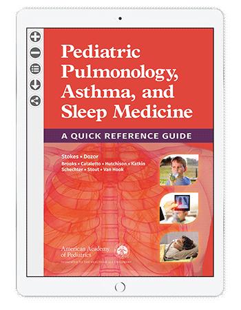 Pediatric Pulmonology, Asthma, and Sleep Medicine: A Quick